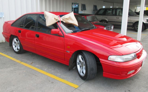 Holden SS Commodore Repaint