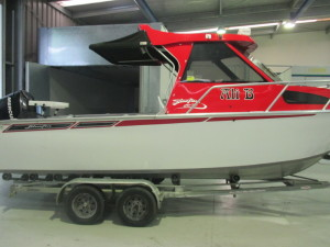 We also specialise in boat repairs